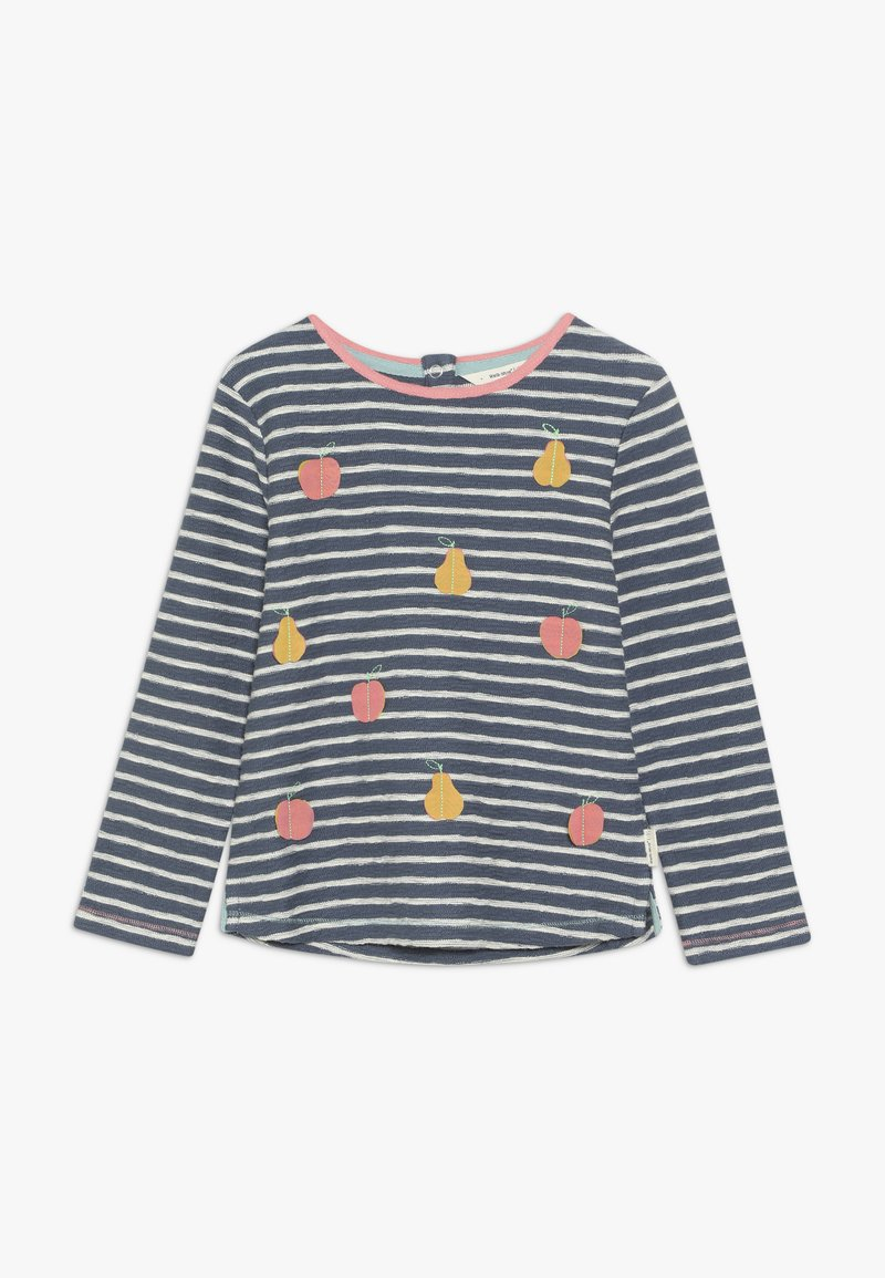 White Stuff - FEELING FRUITY STRIPE - Long sleeved top - washed blue