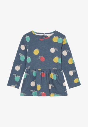 LUCY PRINT TEE - Long sleeved top - washed blue