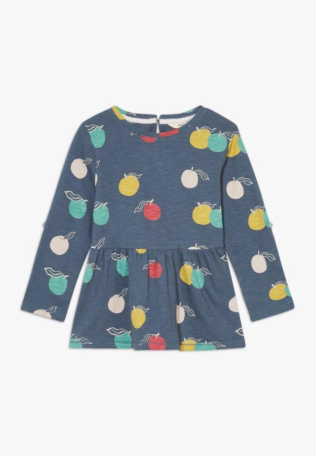 LUCY PRINT TEE - Pitkähihainen paita - washed blue