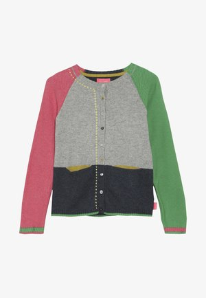CLARA COLOUR BLOCK CARDI - Kardigan - multi-coloured