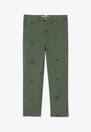 ON YOUR BIKE TROUSER - Chinos - field green