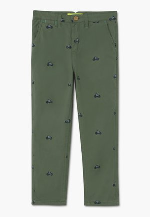 ON YOUR BIKE TROUSER - Chino kalhoty - field green