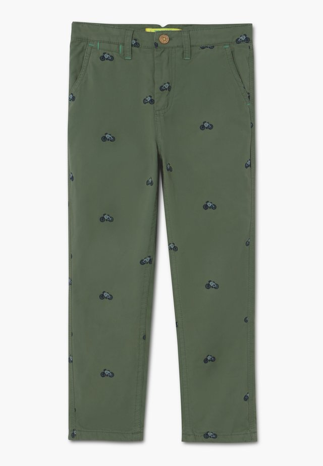 ON YOUR BIKE TROUSER - Chino - field green