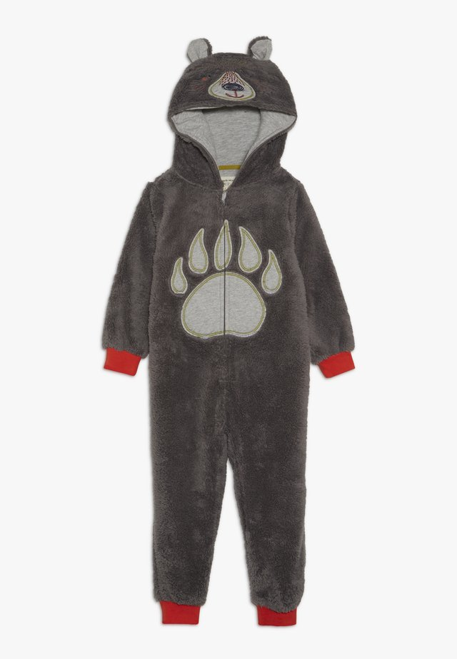 BEAR HUG ONESIE - Sleep suit - dark grey