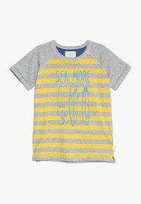 White Stuff - SEA MORE TEE - Print T-shirt - grey/yellow - 0