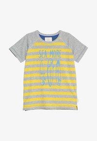 White Stuff - SEA MORE TEE - Print T-shirt - grey/yellow - 2