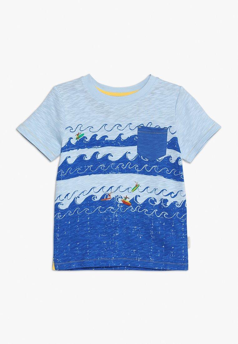 White Stuff - SURFS UP TEE - T-Shirt print - blue