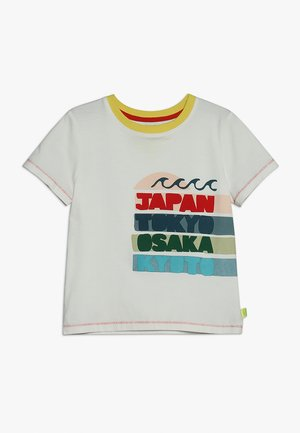 CITY TO CITY TEE - Camiseta estampada - shiro white