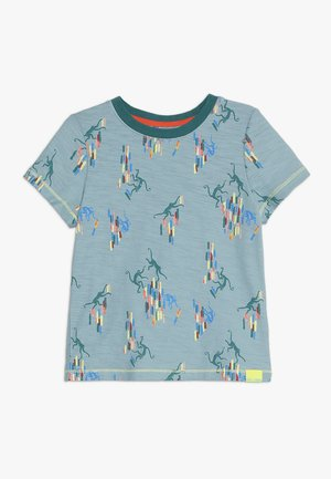 MONKEY AROUND TEE - T-shirt med print - city grey