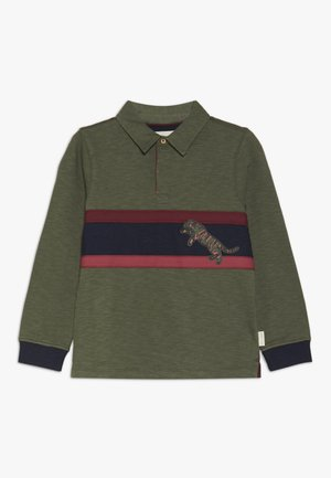 ROB RUGBY TEE - Piké - savanna green