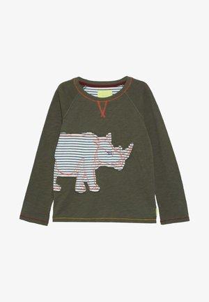 RHINO TEE - Langærmede T-shirts - savanna green