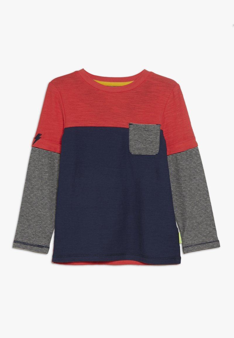 White Stuff - ABSTRACT  - Top sdlouhým rukávem - dark blue/red