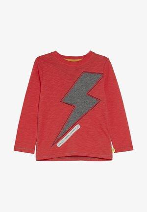 FAST AS LIGHTNING TEE - Langærmede T-shirts - red
