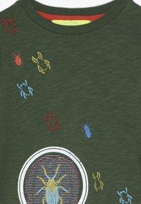 White Stuff - MAGNIFY ME TEE - Top sdlouhým rukávem - scarab green - 3