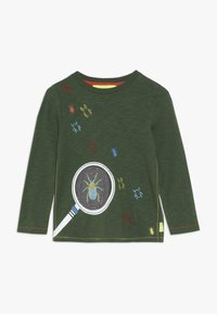 White Stuff - MAGNIFY ME TEE - Top sdlouhým rukávem - scarab green - 0