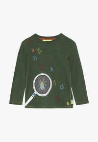 White Stuff - MAGNIFY ME TEE - Top sdlouhým rukávem - scarab green - 2