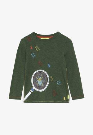 MAGNIFY ME TEE - Långärmad tröja - scarab green