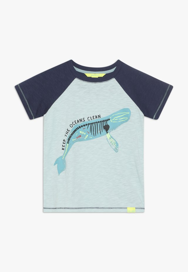 SEA CREATURES TEE - T-shirt con stampa - grey