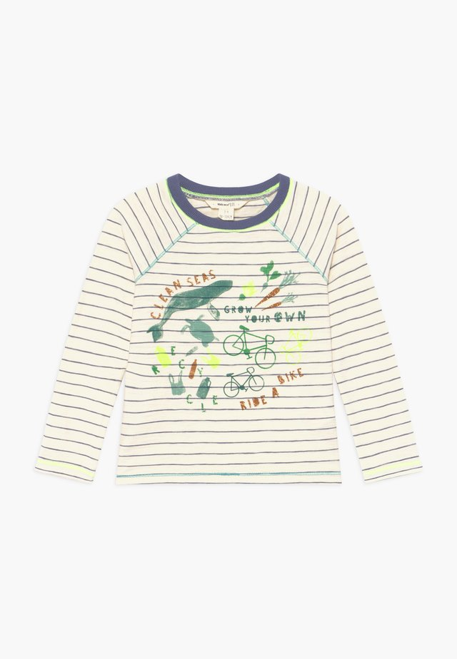 CLEAN SEAS - Långärmad tröja - cream