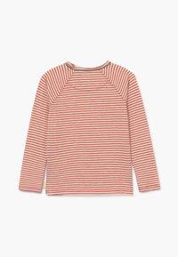 White Stuff - SETH STRIPE TEE - Long sleeved top - rust red - 1