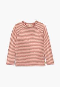 White Stuff - SETH STRIPE TEE - Long sleeved top - rust red - 0