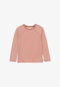 White Stuff - SETH STRIPE TEE - Long sleeved top - rust red - 2