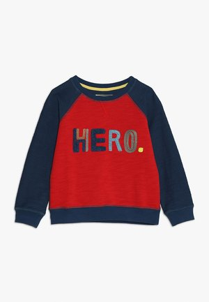 HERO  - Sweatshirt - blue/red