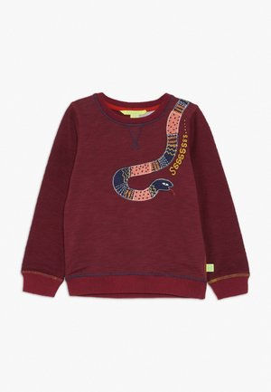 SNAKE - Mikina - clay red