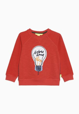 BRIGHT SPARK - Sweatshirt - red
