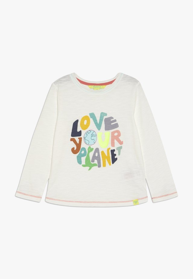 LOVE YOUR PLANET - T-shirt à manches longues - stone grey