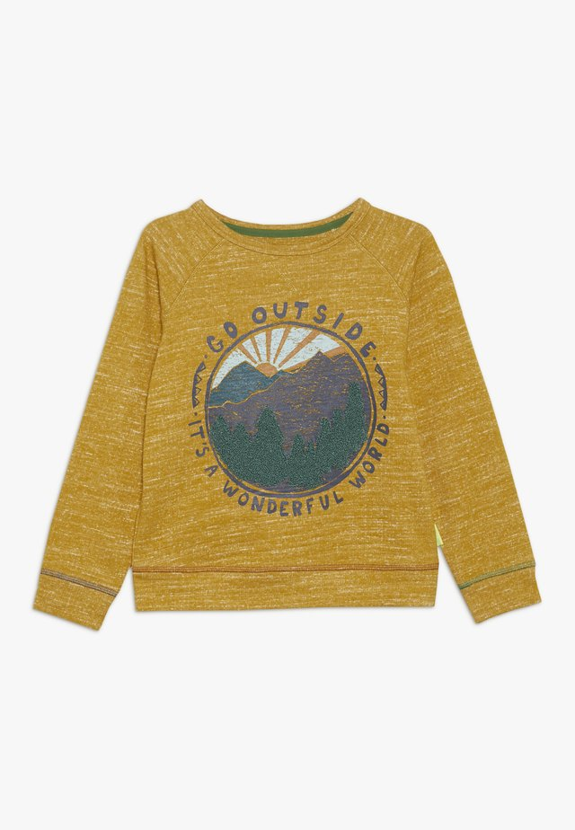 GO OUTSIDE - Sweatshirt - yoke yellow