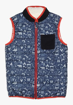 JACK REVERSIBLE GILET - Vesta - dark blue