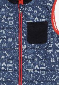 White Stuff - JACK REVERSIBLE GILET - Waistcoat - dark blue - 4