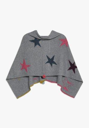 PAPER STARS PONCHO - Cape - grey/pink