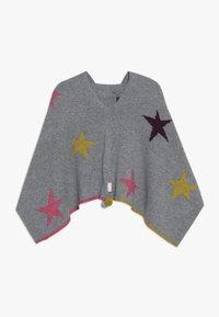 White Stuff - PAPER STARS PONCHO - Cape - grey/pink - 1