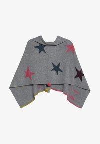 White Stuff - PAPER STARS PONCHO - Cape - grey/pink - 3
