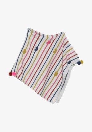 HEARTS STRIPES PONCHO - Cape - multicolor