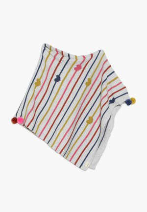 HEARTS STRIPES PONCHO - Cape - multicolor