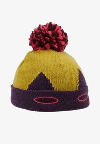 White Stuff - SUPERHERO HAT GIRLS VERSION - Čepice - mustard yellow/pink/blue - 1