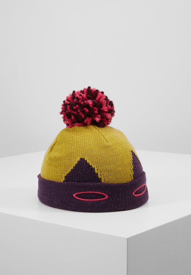 SUPERHERO HAT GIRLS VERSION - Čepice - mustard yellow/pink/blue