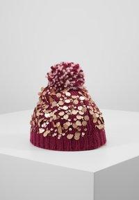 White Stuff - POM HAT - Gorro - berry - 3