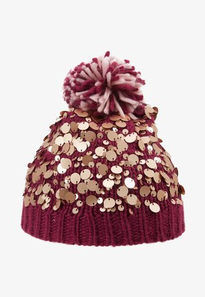 POM HAT - Bonnet - berry
