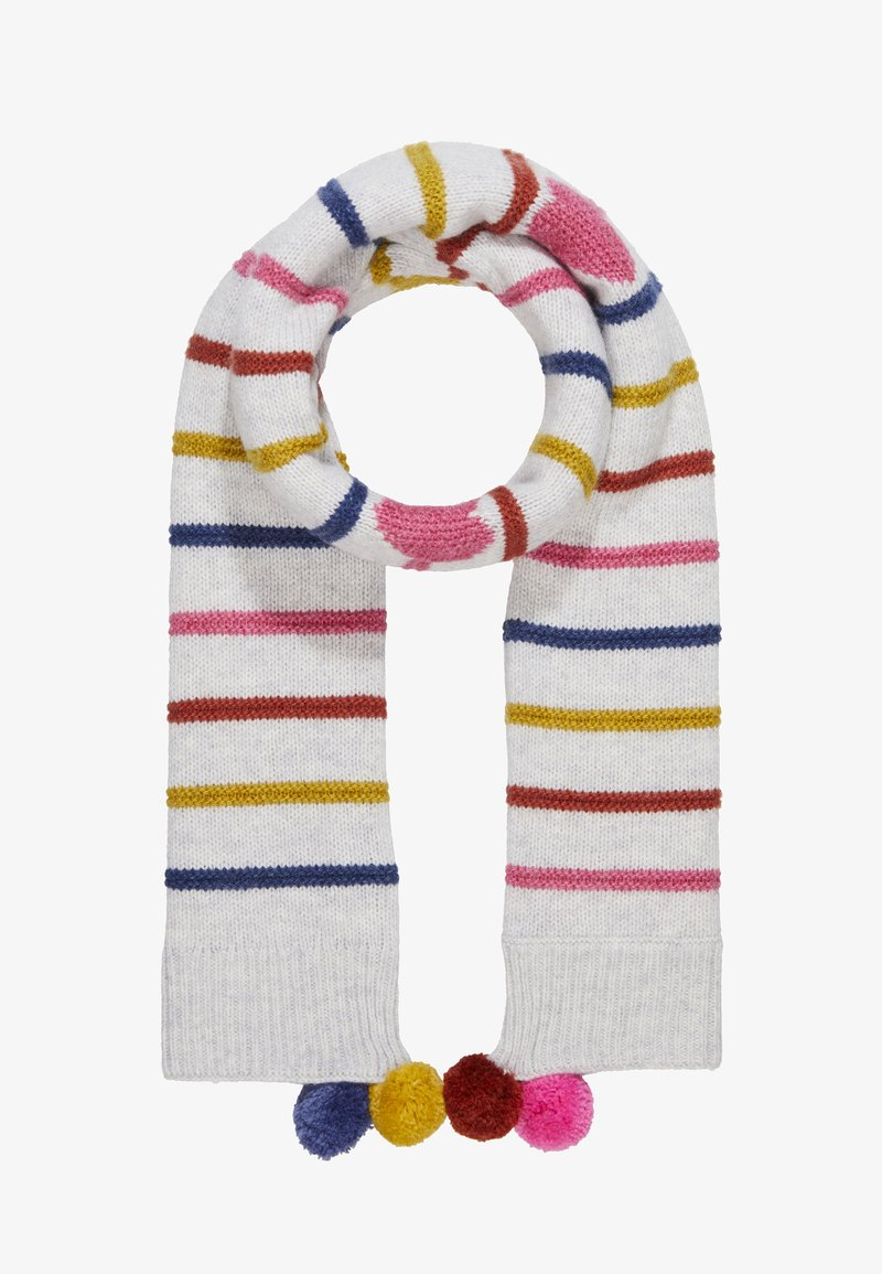 White Stuff - HEARTS AND STRIPES TIPPET SCARF - Sjaal - multi