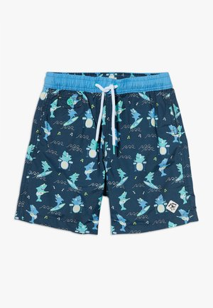 SHARK SWIM  - Szorty kąpielowe - dark blue/green