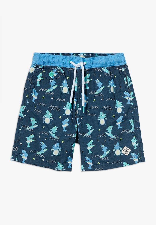 SHARK SWIM  - Badeshorts - dark blue/green