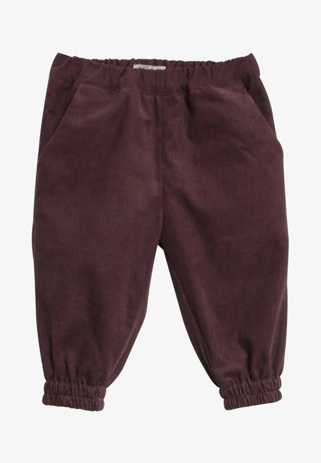 LILLIE - Trousers - brown