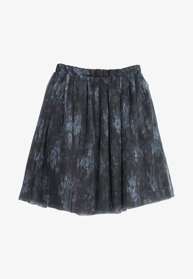 A-line skirt - dark iron