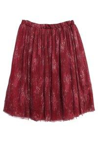 Wheat - A-line skirt - dark berry - 1