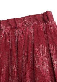 Wheat - A-line skirt - dark berry - 2