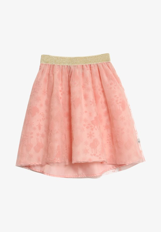 FROZEN  JOURNEY - A-line skirt - misty rose